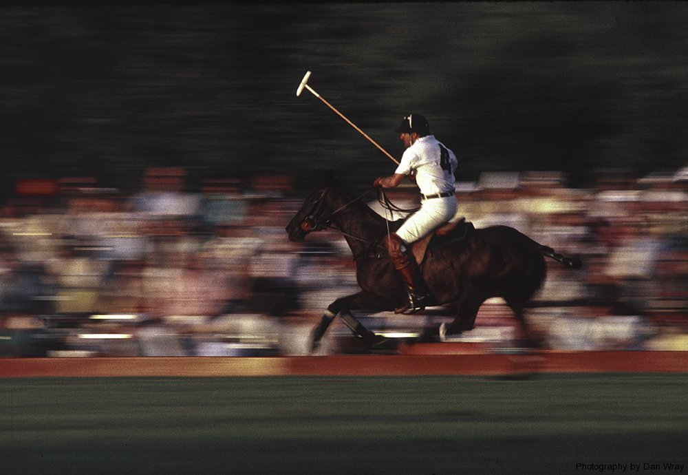 Saratoga Polo (August, 1988). Scanned from a Kodachrome 200 slide.