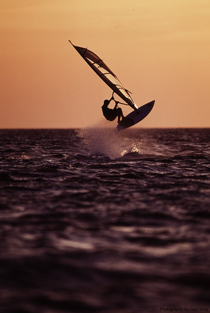 Windsurfing, outbanks of North Carolina.