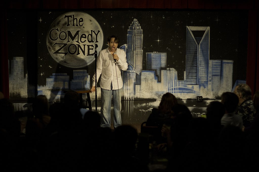Chris Kattan at The Comedy Zone, Charlotte, North Carolina, April 21, 2012.
