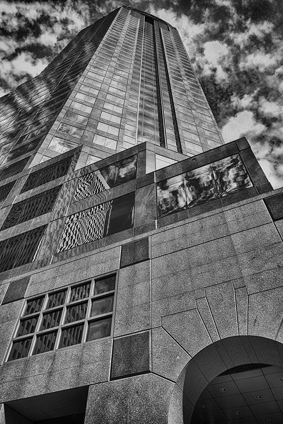 Wells Fargo building, uptown Charlotte, North Carolina.