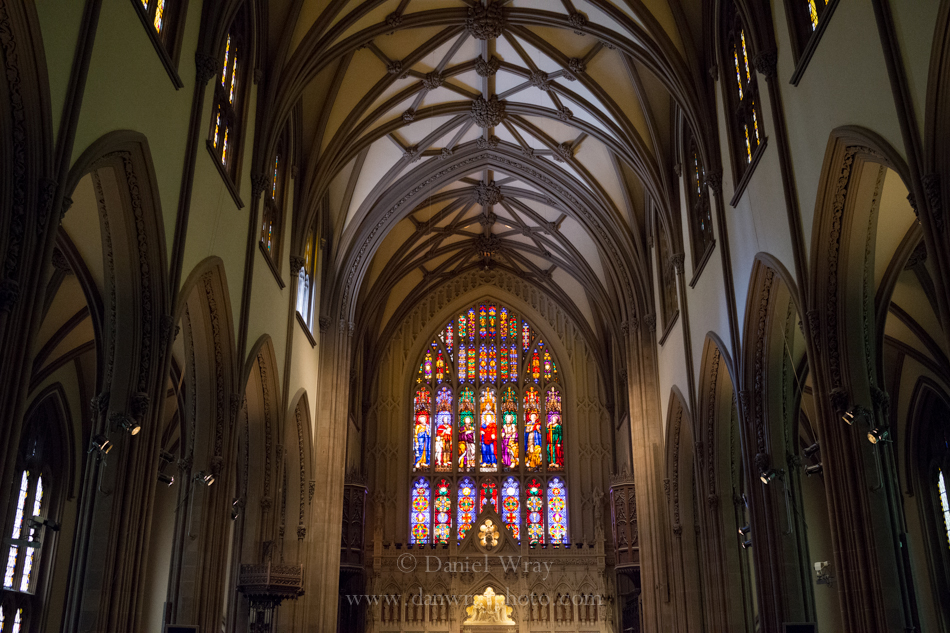 Trinity Church, New York City, interior of main sanctuary.