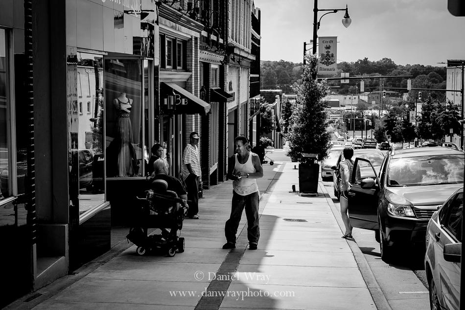 Main Street, Albemarle, North Carolina.