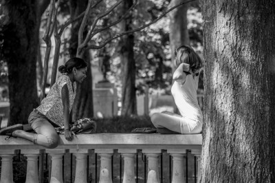 Rittenhouse Square Park, Philadelphia, Pennsylvania.