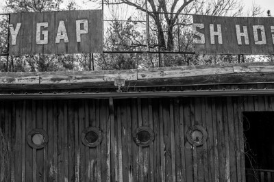 The old Stony Gap Fish House, Albemarle, North Carolina.