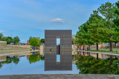 National Memorial at the site of the Oklahoma City bombing.