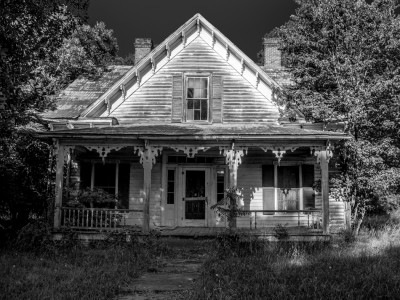 Abandoned house, Mount Gilead, North Carolina.