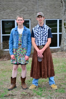 Two High School guys raising money for the Prom.