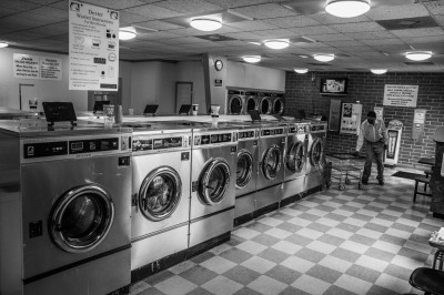 Laundromat in Albemarle, North Carolina.