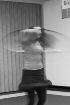 Katie Hopkins, Hoop Dancer and instructor.