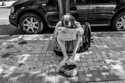 Homeless on Philadelphia Streets