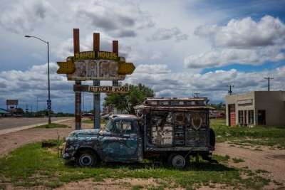 Along Old Route 66. Tucumcari, New Mexico
