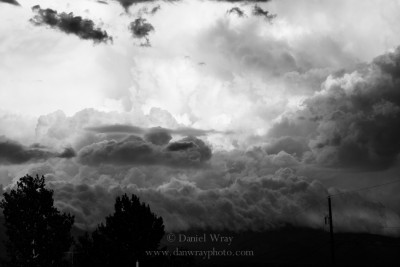 Gathering storm, Albuquerque, New Mexico.