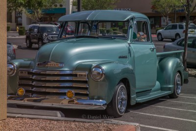 Classic Chevrolet pickup truck, Santa Fe, New Mexico.
