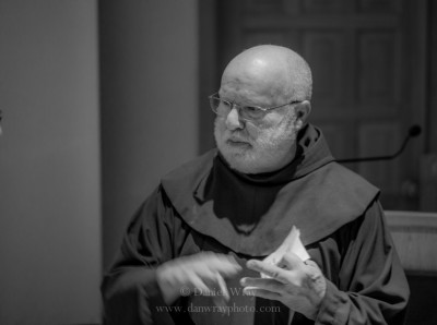 Franciscan Priest Richard Rohr at Glen West 2014, Santa Fe, New Mexico.