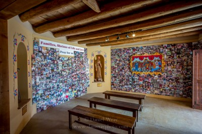 One of the smaller chapels at Santuario de Chimayo, New Mexico.