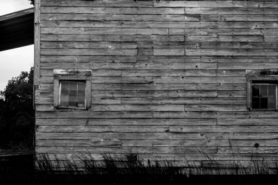 Old Farm building, Montgomery County, North Carolina.