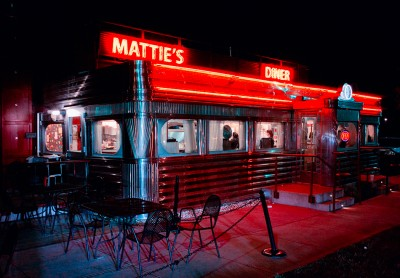 MATTIE'S DINER, Charlotte, North Carolina.