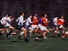 Rugby action, upstate New York, circa late 1980s.